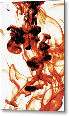 Volcanic Eruption Metal Print by Sumit Mehndiratta