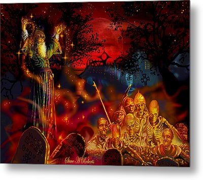 Von The Nacromancer Metal Print by Steve Roberts