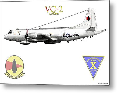 Vq-2 Rangers Metal Print by Clay Greunke