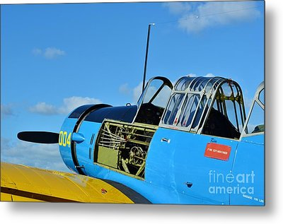 Vultee Bt-13 Valiant  Metal Print by Lynda Dawson-Youngclaus
