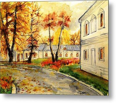 W 19 Moscow Metal Print by Dogan Soysal