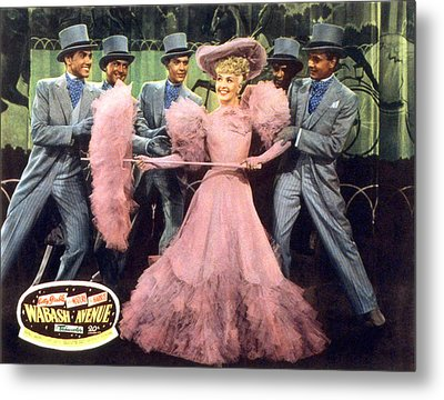 Wabash Avenue, Betty Grable, 1950 Metal Print by Everett