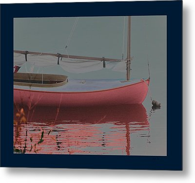 Waiting To Sail Metal Print by Rene Crystal