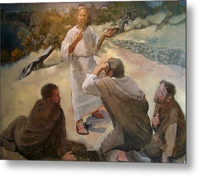 Waking The Apostles Metal Print by Larry Christensen