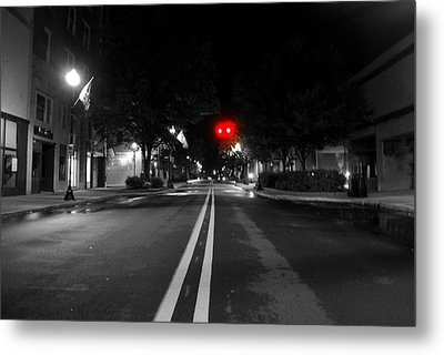 Walking After Midnight  Metal Print by Tammy Cantrell