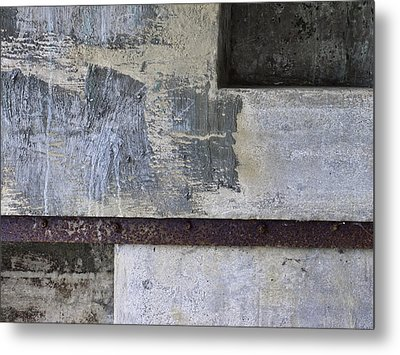 Wall Texture Number 12 Metal Print by Carol Leigh