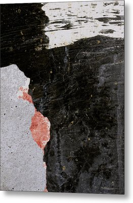 Wall Texture Number 6 Metal Print by Carol Leigh