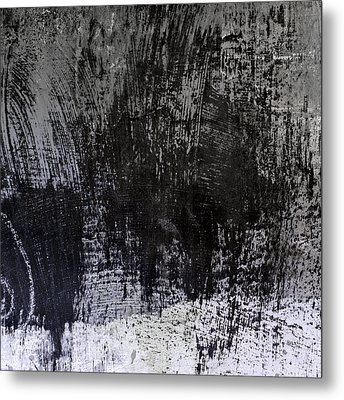 Wall Texture Number 7 Metal Print by Carol Leigh