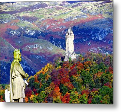 Wallace Autumn Colours Metal Print by Patrick MacRitchie