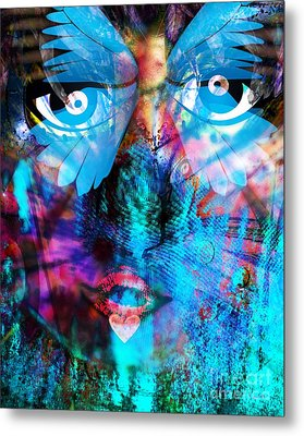 Wandering Thoughts - Untitled Desire Metal Print by Fania Simon