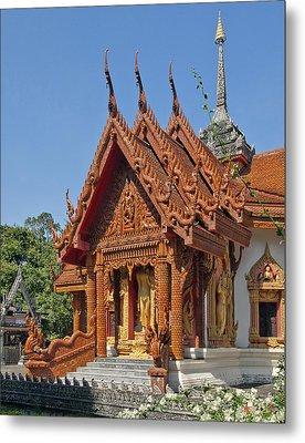 Wat Ban Tha Bo Ubosot Dthu200 Metal Print by Gerry Gantt