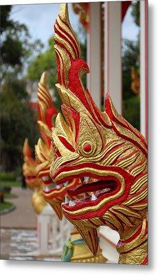 Wat Chalong 3 Metal Print by Metro DC Photography