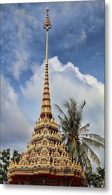 Wat Chalong 5 Metal Print by Metro DC Photography