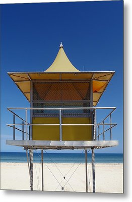 Watchtower Metal Print by Melanie Viola