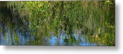 Water Emeralds And Sapphires Metal Print by Gretchen Wrede