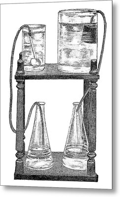 Water Filters, 19th Century Metal Print by