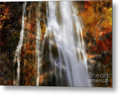 Water Flow Metal Print by Keith Kapple