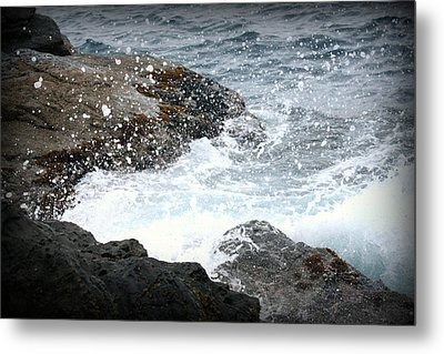 Water Splash Metal Print by Kevin Flynn
