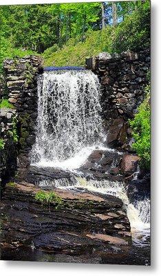 Waterfall Metal Print by Sara Walsh