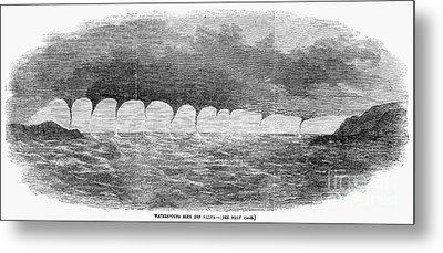 Waterspouts, 1856 Metal Print by Granger