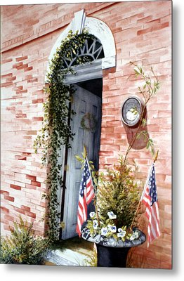 Welcome To Wickford Metal Print by Daydre Hamilton