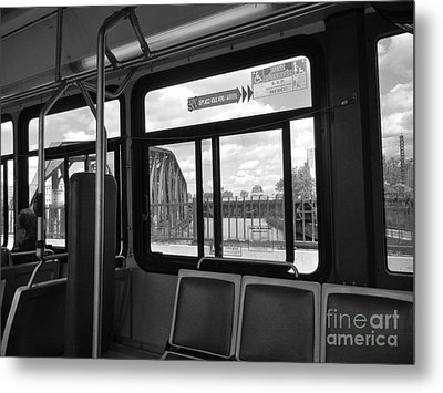 Wellington Overpass Metal Print by Reb Frost