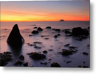 West Coast Sunset Metal Print by Grant Glendinning