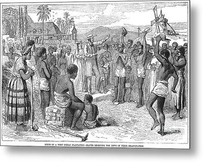 West Indies: Emancipation Metal Print by Granger