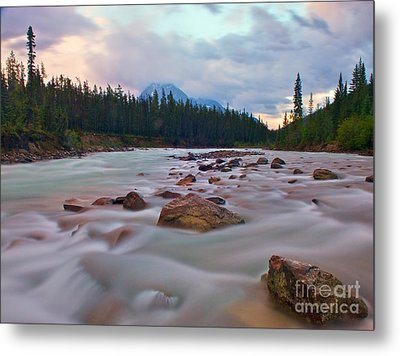 Whirlpool River Metal Print by James Steinberg and Photo Researchers