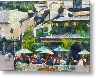 Whistler Two Metal Print by Dale Stillman