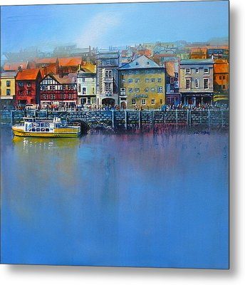 Whitby St Anne's Staith Metal Print by Neil McBride