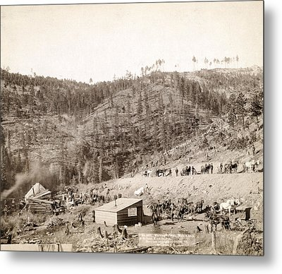 Whitewood Canyon, Wade And Jones R.r Metal Print by Everett