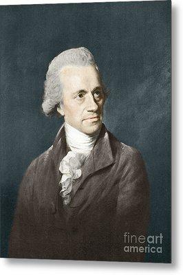 William Herschel, German Astronomer Metal Print by Science Source