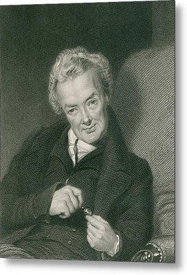 William Wilberforce 1859-1833, British Metal Print by Everett