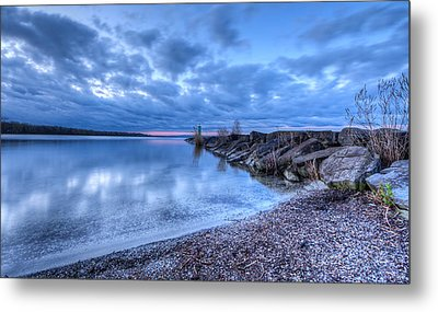 Willow Bay Metal Print by Everet Regal