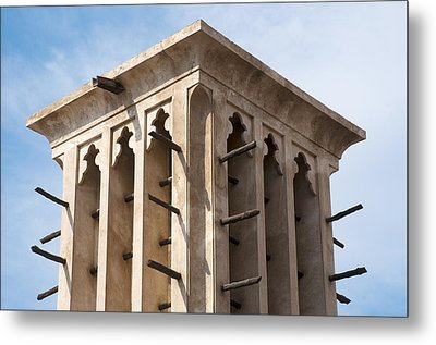 Wind Tower Metal Print by Fabrizio Troiani