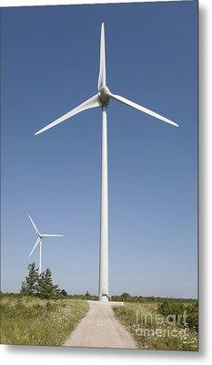Wind Turbines Metal Print by Jaak Nilson
