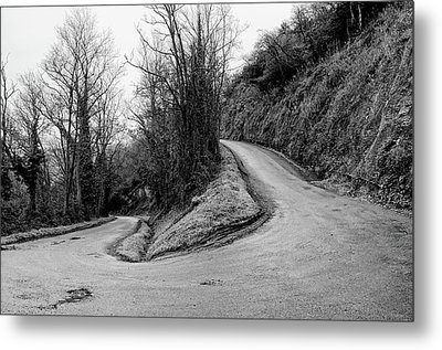 Winding Road Metal Print by Xamah Image