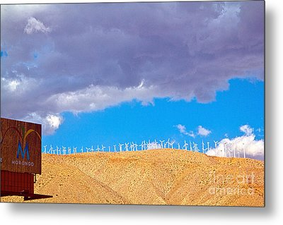 Windmills Metal Print by Molly Heng