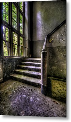 Window And Stairs Metal Print by Nathan Wright