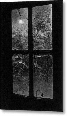 Window At Castle Frankenstein Metal Print by Simon Marsden