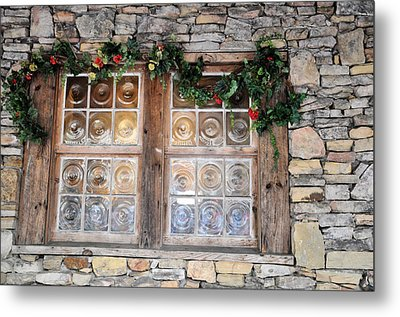 Window In The Old Mill Metal Print by Jan Amiss Photography