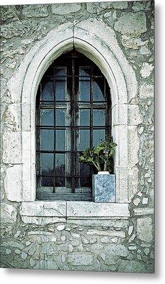 Window Of A Chapel Metal Print by Joana Kruse