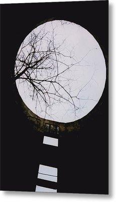 Windows To The Moon Metal Print by Jennifer Choate