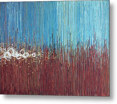 Windy Daze 1 Metal Print by Kate Tesch