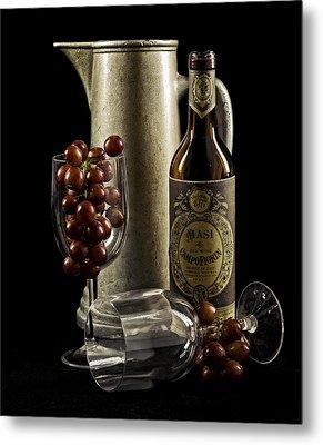 Wine Anyone? Metal Print by Jen Morrison