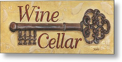 Wine Cellar Metal Print by Debbie DeWitt
