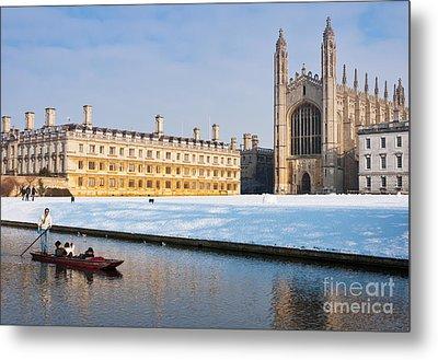 Winter Snow At Kings Metal Print by Andrew  Michael