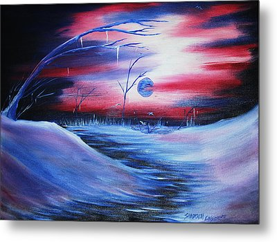 Winter's Frost Metal Print by Shadrach Ensor