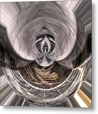 Wisdom And Knowledge Will Be The Stability Of Thy Times Metal Print by Robert Ponzoni
